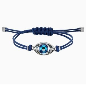 Swarovski evil eye bracelet